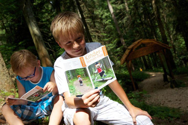 Mit dem Baiersbronner Kinderwanderpass werden auch Kinder zum Eroberer des Baiersbronner Wanderhimmels...