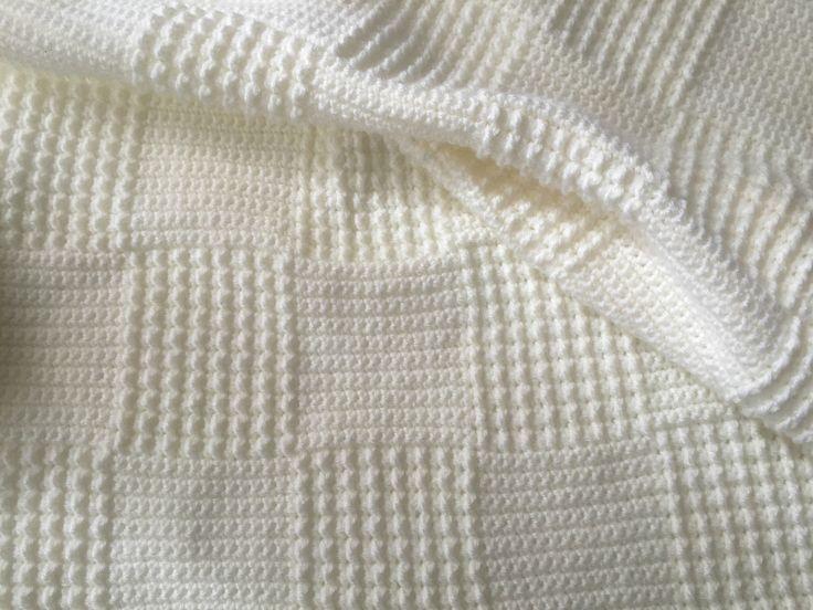 Couverture bébé crochet