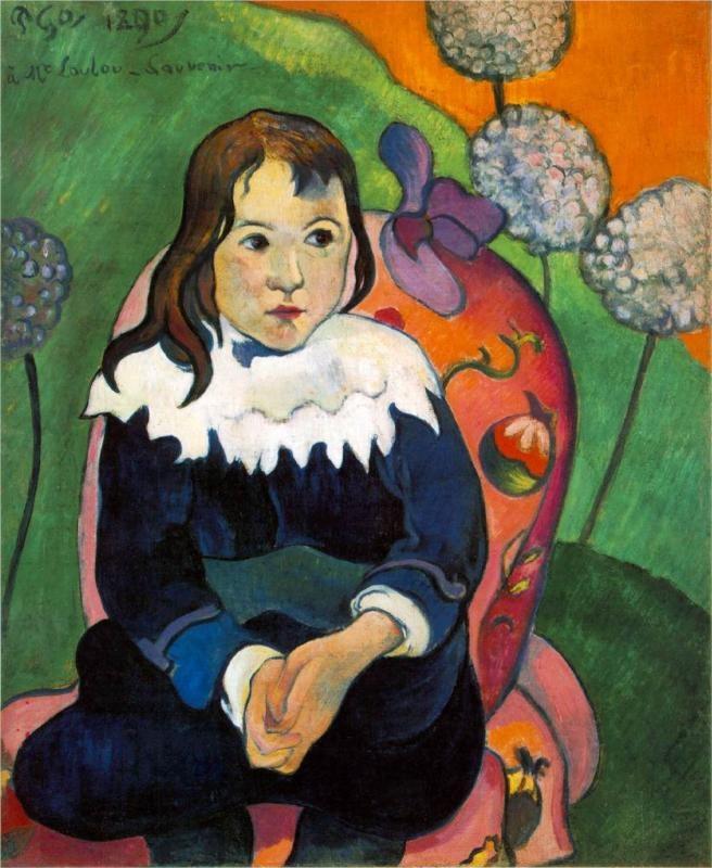 Paul Gauguin, M.Loulou, 1890