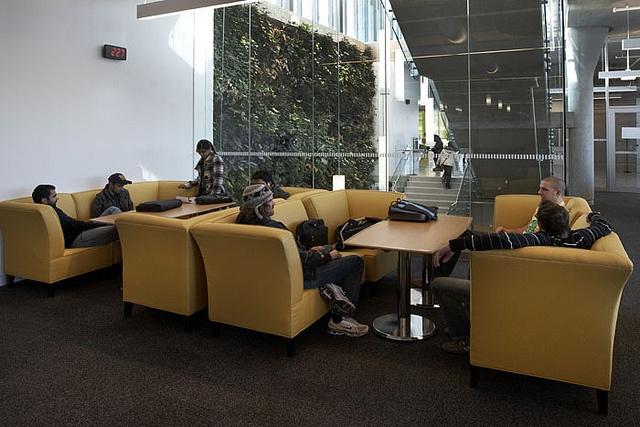 Media Lounge, Fennell Campus. #ExploreMohawk