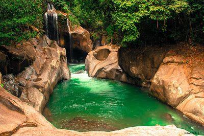 PERGIPEDIA  - Objek Wisata Air Terjun Nyarai Lubuk Alung Padang Sumatera Barat…