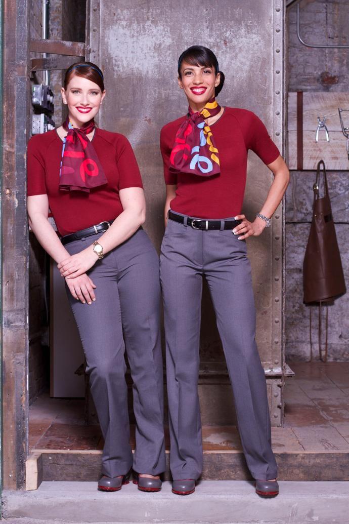 Στολές αεροσυνοδών χίπστερ κουλτούρας από την Rouge