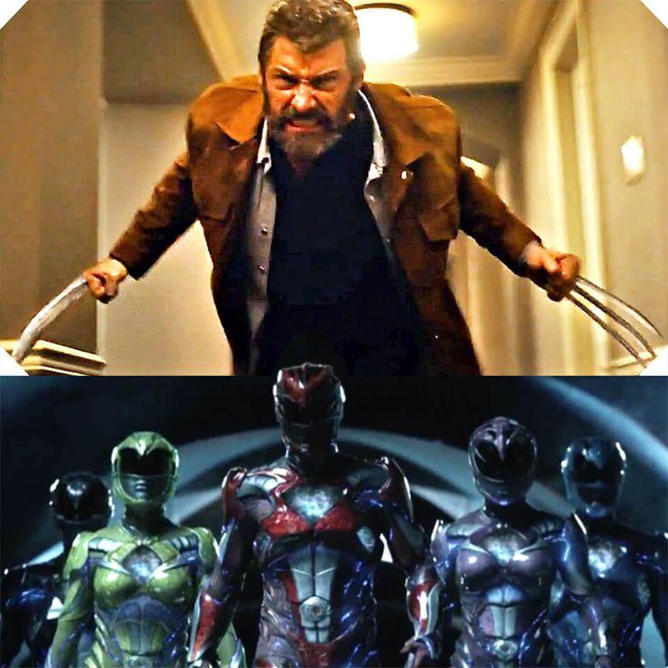 Logan e Power Rangers trailers