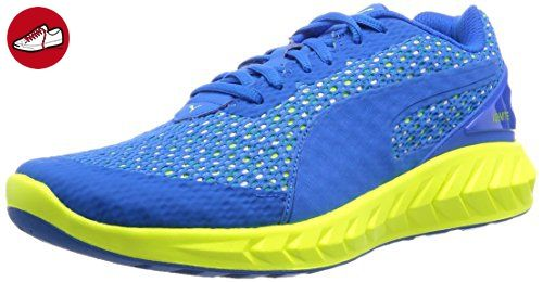 Puma Herren Ignite Ultimate Layered Laufschuhe, Blau (Electric Blue Lemonade-Puma White-Safety Yellow 03), 40.5 EU - Puma schuhe (*Partner-Link)