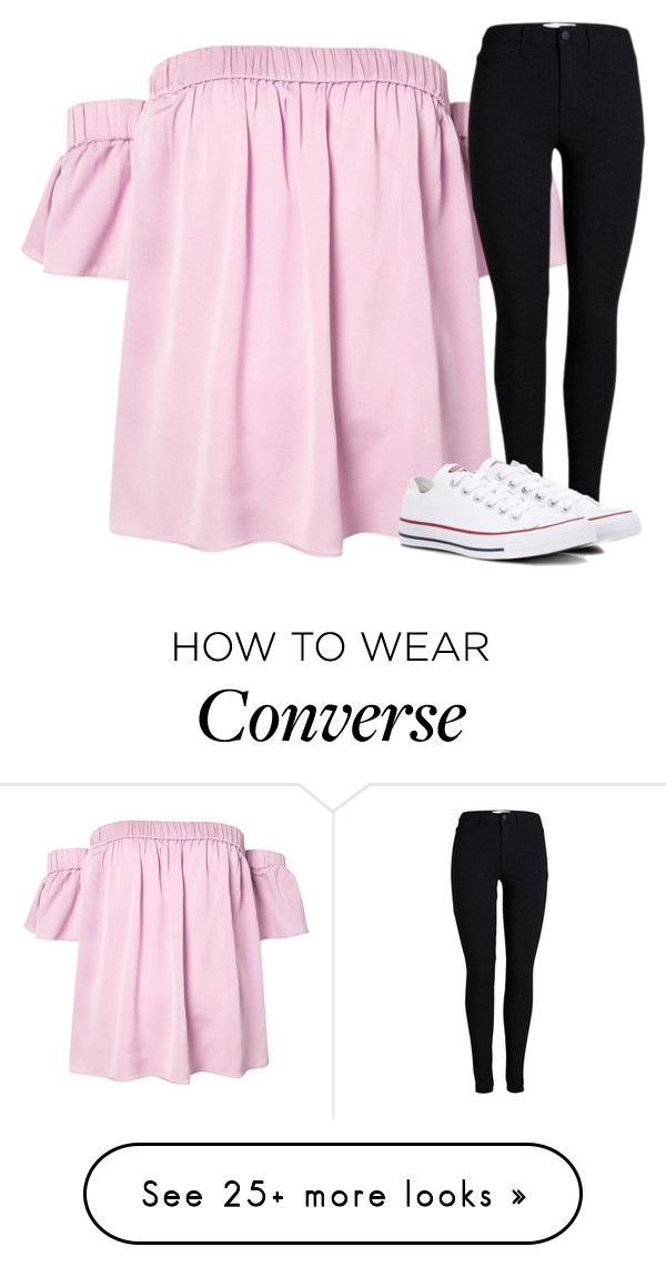"""Untitled #2779"" by laurenatria11 on Polyvore featuring Milly and Converse"
