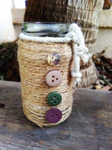 Rustic mason jar