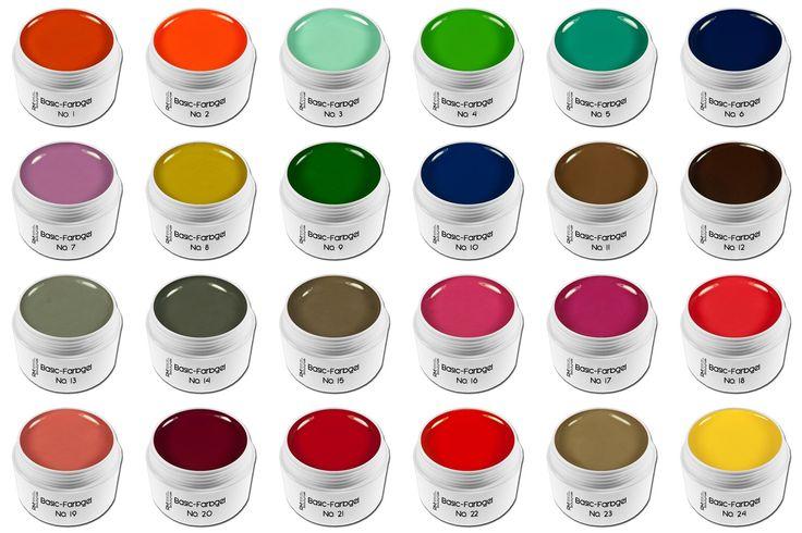 RM Beautynails Colorgel Farbgel UV-Gel 5ml - NO 20 Dunkelrot: Amazon.de: Beauty