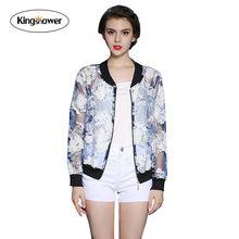Весна / лето 2016 новых женских пальто с длинным рукавом цветочный печать выдалбливают солнцезащитный крем кружева куртка J2032(China (Mainland))