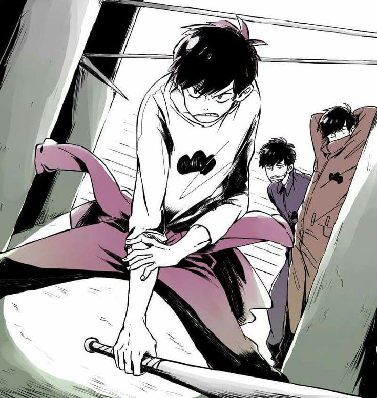 Osomatsu-san- Osomatsu, Ichimatsu, and Todomatsu #Anime「♡」