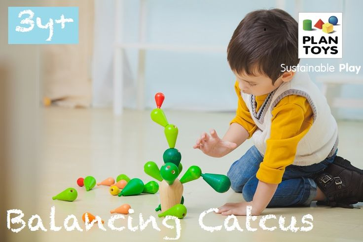 It's all about strategy with this game! The player that can build and balance the cactus without making it fall is the winner! http://usa.plantoys.com/product/balancing-cactus/