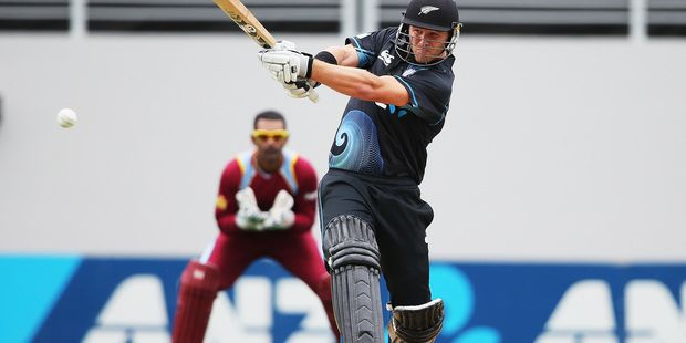 Black Cap Corey Anderson has scored the fastest century in one day cricket