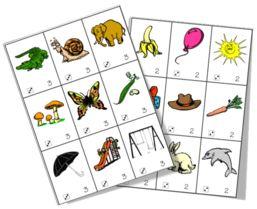 Des jeux pour apprendre à localiser, oraliser et comparer les syllabes finales Avant de proposer ces jeux en autonomie, je travaille d'abord en collectif sur les différentes images ( Télécharger...