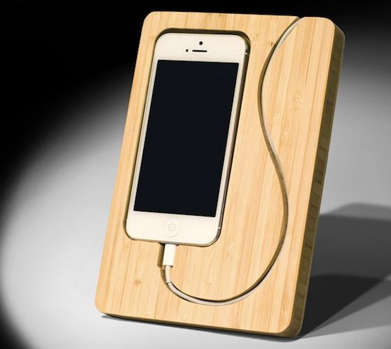 Featuring a minimalistic design with a touch of eco-friendliness, the Chisel 5 iPhone Dock is handcrafted from renewable bamboo and offers a unique yet stylish alternative to a generic iPhone dock.