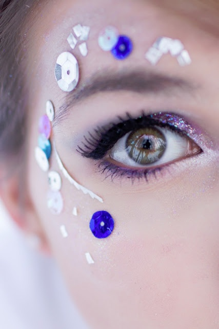 184 Best Images About Glitter Makeup On Pinterest