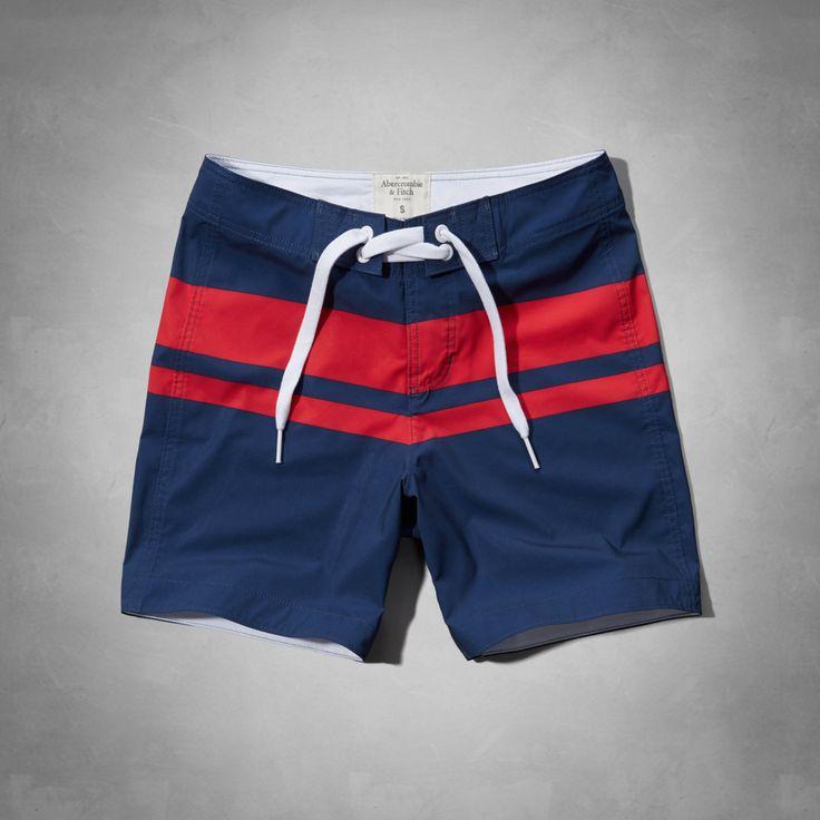 Mens Henderson Lake Swim Shorts | Mens Swim | Abercrombie.com