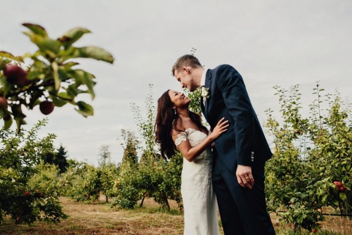 Photos in the Orchard - Taylor Roades