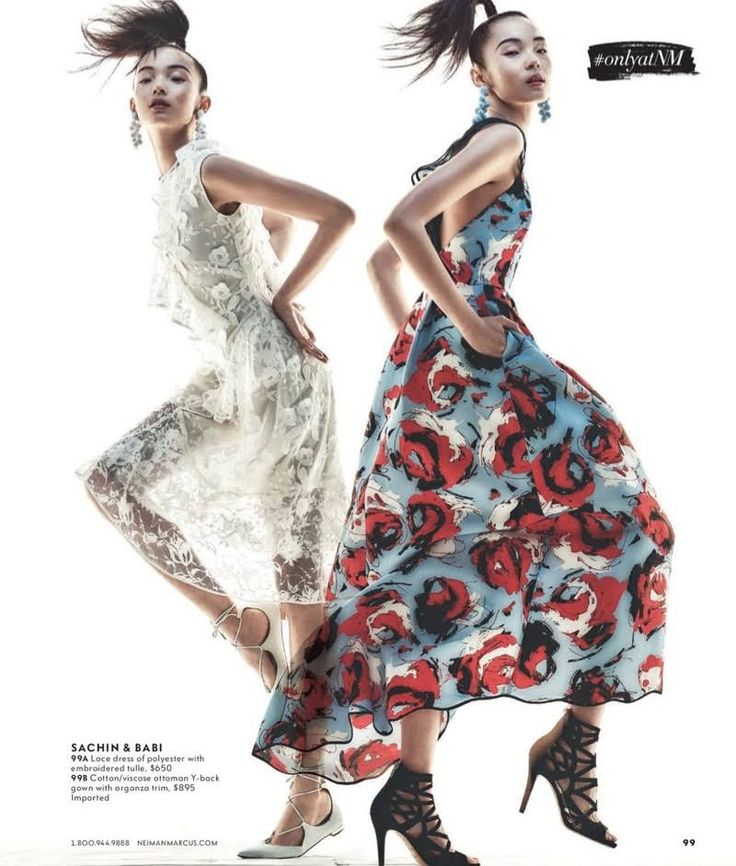 Leading model Xiao Wen Ju lands an appearance in the March 2017 issue of Neiman Marcus' 'The Book'. The luxury fashion retailer spotlights exclusive designs from some of the industry's top brands. For the feature, the Chinese beauty poses for Andreas Sjodin in spring-ready designs. From glamorous floral appliqué gowns to little black dresses and …