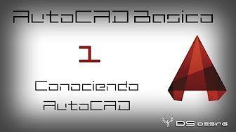 Curso AutoCAD 2015 en Español | Cap.: 1 | Conociendo el programa y su interfaz - YouTube