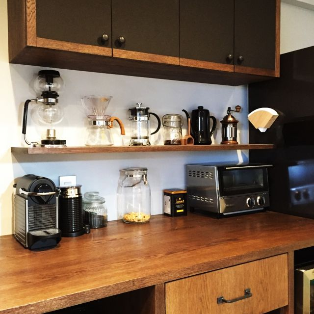 リノベーション/インスタグラム→aono0907/キッチン収納/Kitchen…などのインテリア実例 - 2015-04-01 05:42:13 | RoomClip(ルームクリップ)