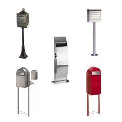 Standbriefkasten mit Qualität Unsere Briefkasten mit Ständer werden Sie überzeugen. Qualität vom Ständer bis zur Einwurfklappe. Die Briefkästen aus unserer Kategorie der freistehenden Briefkästen...