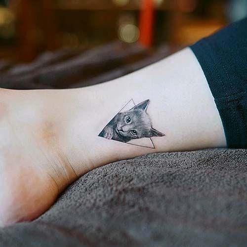 küçük kedi dövmesi tumblr small cat tattoo