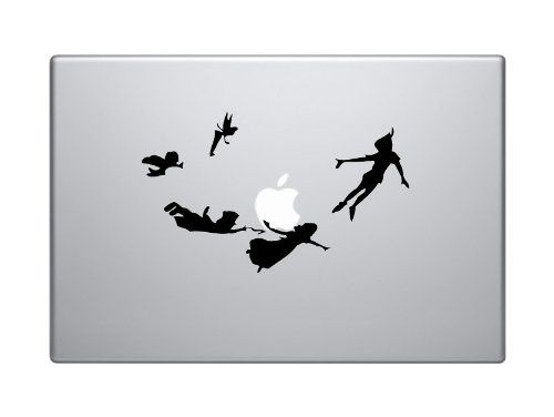 Peter Pan Flying with Friends Walt Disney Apple Whole Map Silhouette Macbook Symbol Keypad Iphone Apple Ipad Decal Skin Sticker Laptop Southern Sticker Company,http://www.amazon.com/dp/B00ESNEK4W/ref=cm_sw_r_pi_dp_IIiAsb006VKQRDPP