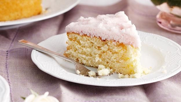 It's no great surprise that this moist coconut cake makes the Australian Women's Weekly's Top 10 cakes, coming in at number 6. The coconut ice frosting alone is scrummy enough to make this cake a real winner.