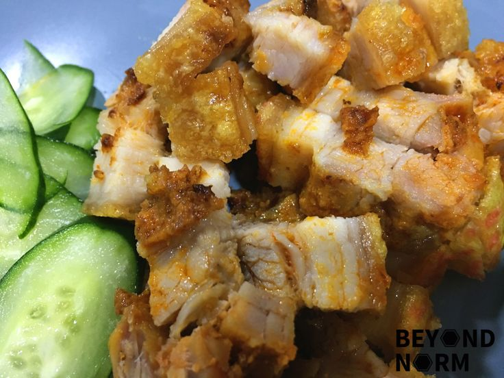 Never heard of Laksa Roast Pork right? I don't think anyone has ever thought of a dish like this before. Hahaha. If you like our popular Hassle-Free Roast Pork (Siu Yok) (with perfect crackling!!!)…