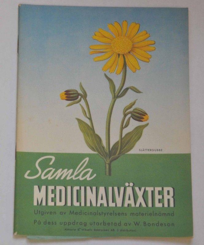 Samla medicinalväxter 1942 |
