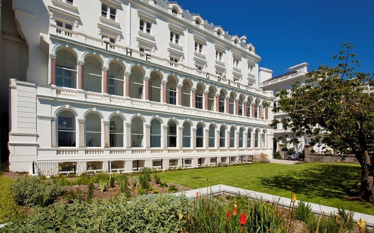 Plymouth, Devon , the former Grand Hotel
