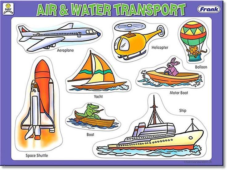 Land Air Water Transportation Home :: Jigsaws