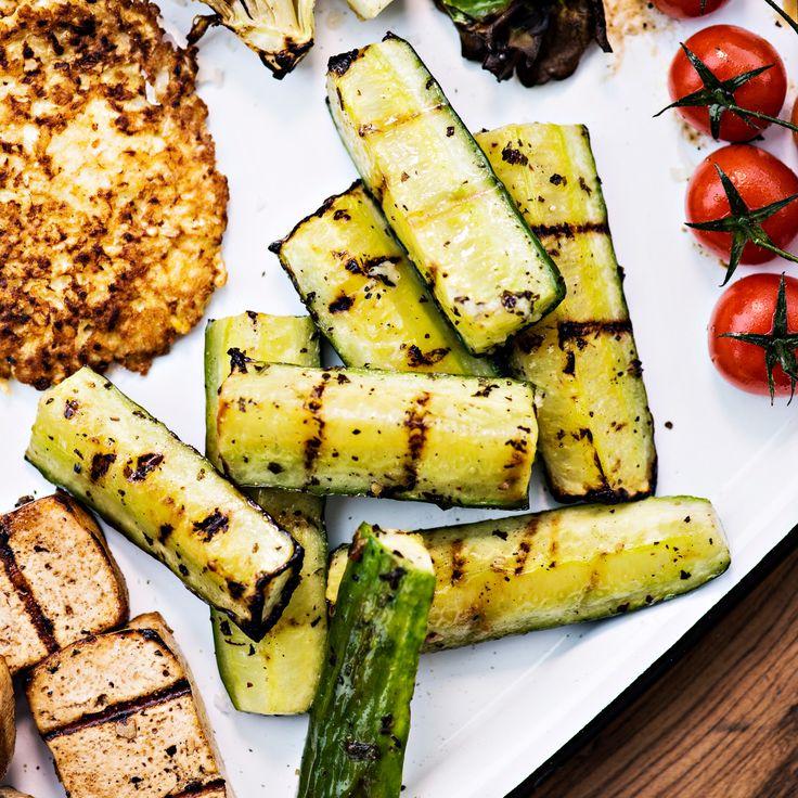 Grillattu kurkku | K-ruoka #grillaus #kasvisresepti