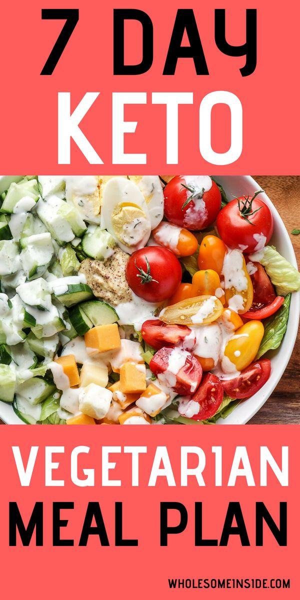 7 Day Vegetarian Keto Meal Plan