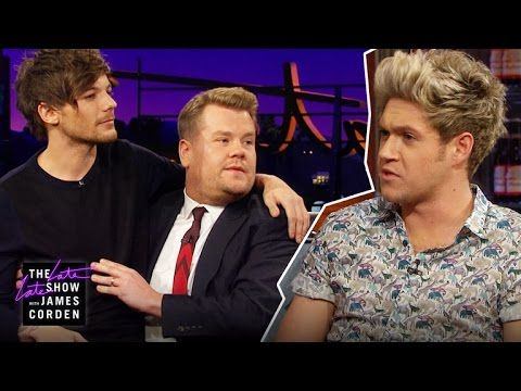"""I loved this so much. """"Well well well"""" """"no the cat doesnt talk!"""" And the way Niall lost it right before his line """"the names Bond, James Bond"""""""