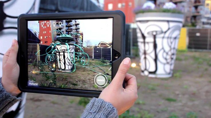 Il Giardino delle Delizie di Bosch ispirano un'applicazione in Realtà Aumentata.  http://virtualmentis.altervista.org/