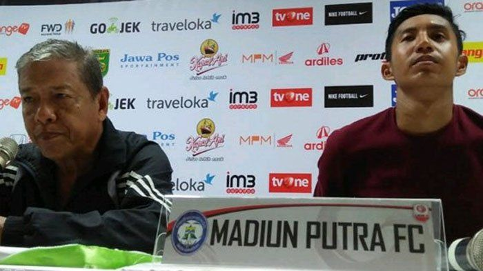 Kalah dari Persebaya, Sartono Anwar Sesalkan Konsentrasi Pemain Madiun Putra FC di Babak Kedua