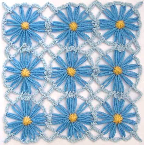 Flower loom- crochet join tutorial