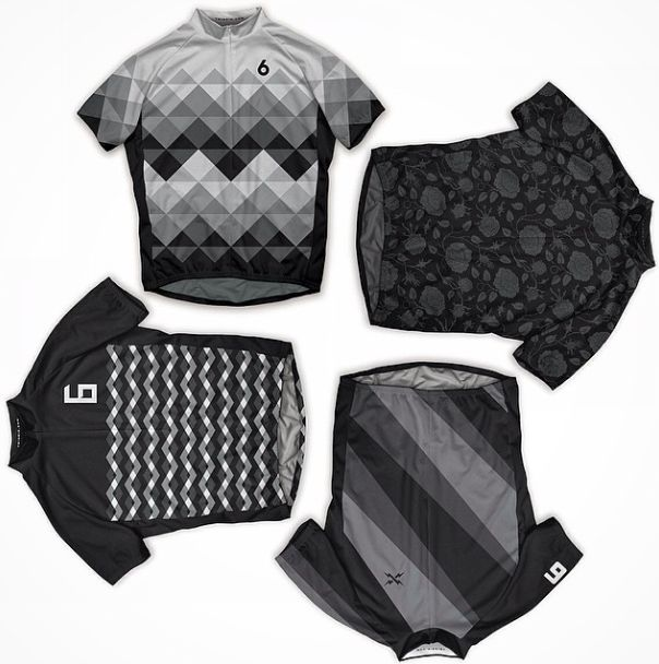grey scale. #cycling #kit
