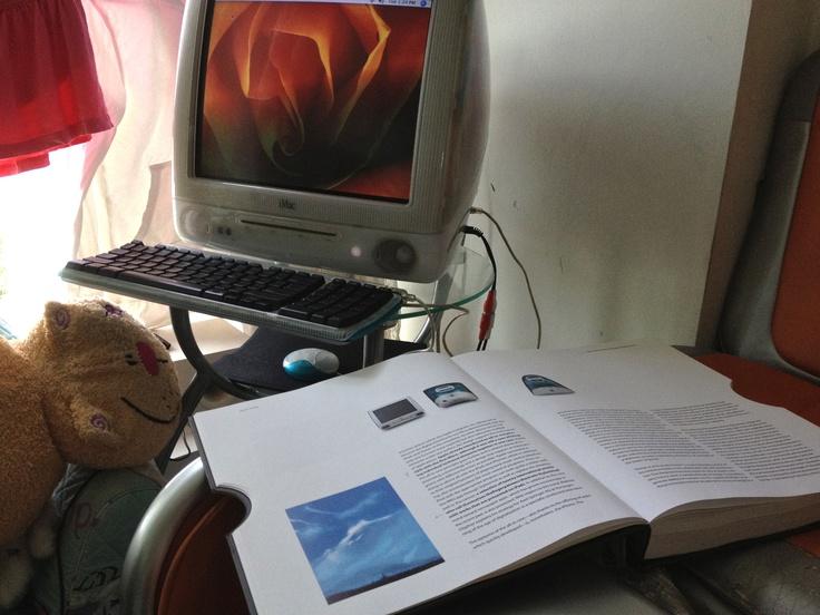 "iMac G3 and ""Apple Design"" book"