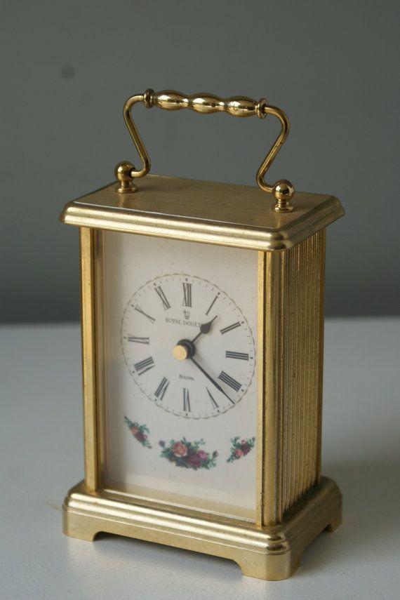 bulova mantel clock instructions
