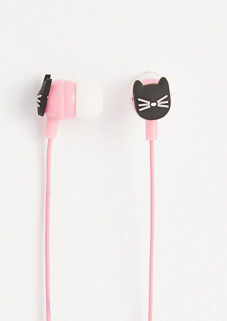 Black Cat Ear Buds | rue21