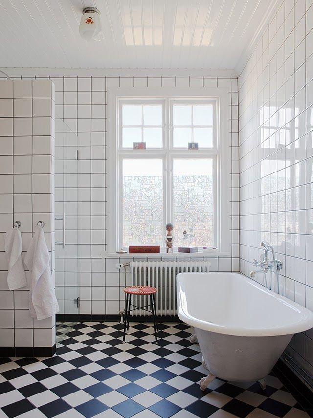 Made In Persbo: Nytt badrum i orginalstil