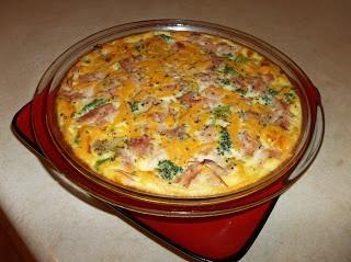 Sandis Allergy Free Recipes: Crustless Ham and Broccoli Quiche (Gluten Free/ Dairy Free)