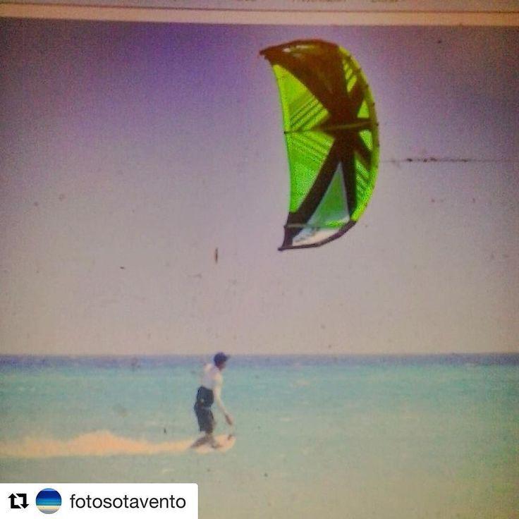 Thank you for this one @fotosotavento #retro #kitesurfing #fuerteventura #reneegli #meliagorriones @oceanrodeo #oceanrodeo #boredwithnoboard #bwnb #thekiteshots