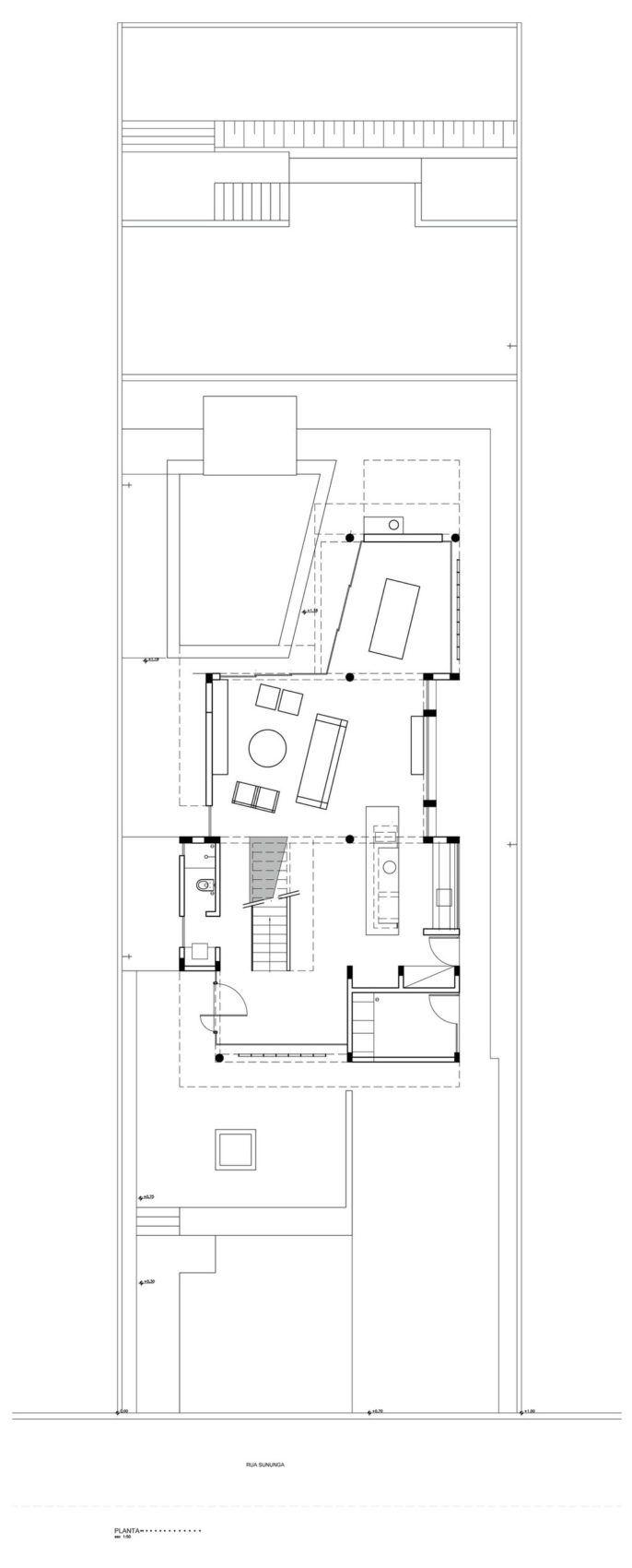 Casa Campanella By Campanella Arquitetura 13 One Level Homes Design International Style