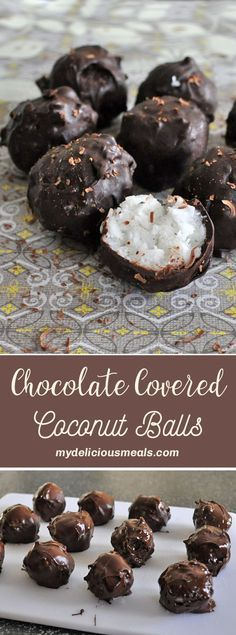 These no-bake chocolate covered coconut clusters will blow you away, they are one of the yummiest and easiest treats you will ever make. If you're a fan of Bounty chocolate bars from Mars or Almond Joy chocolate bars from Hershey, you MUST try this amazing, simple recipe.