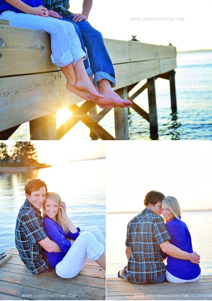 dock engagements  |  www.jennachristine.com/weddings