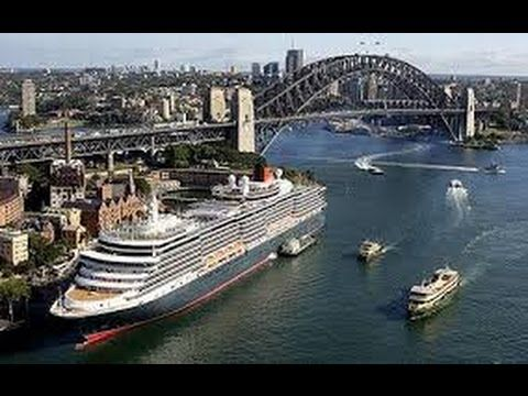 awesome The magnificent Queen Victoria cruise ship in SYDNEY'S Harbour (Australia)