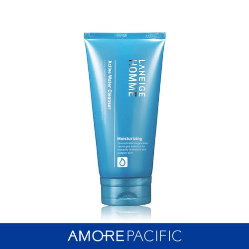 Mouse over image to zoom               [AMOREPACIFIC] LANEIGE Homme ACTIVE WATER CLEANSER 150ml
