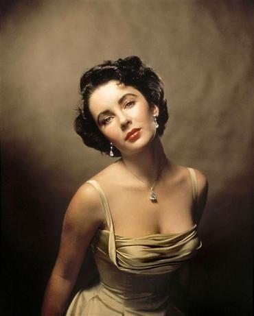 Elizabeth Tailor  for Life magazine, 1948 - Philippe Halsman, Magnum Photos